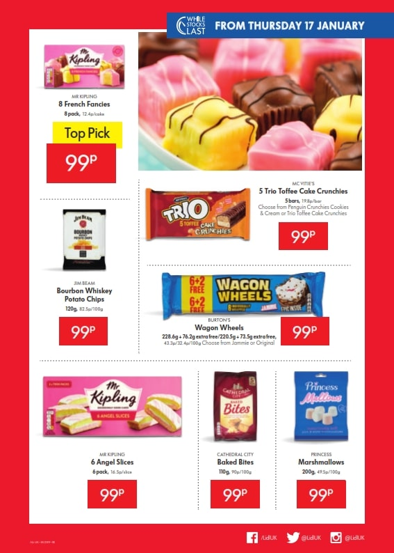 Lidl Offers 17th January 23th January 2019