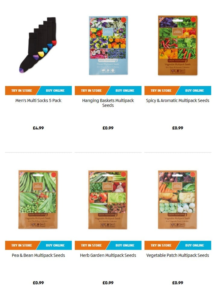 Aldi Special Buys 28th February 2019