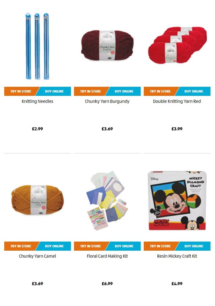 Aldi Special Buys 31th March 2019