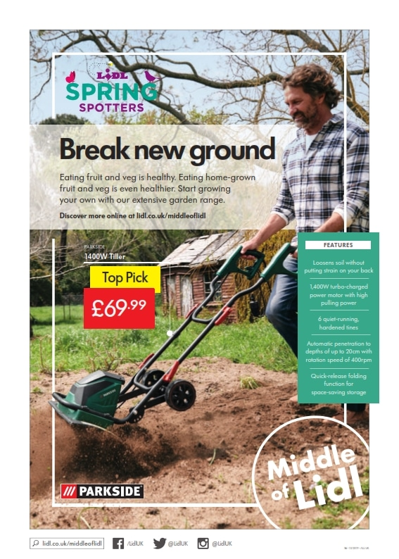 Lidl Offers 28th March 3rd April 2019