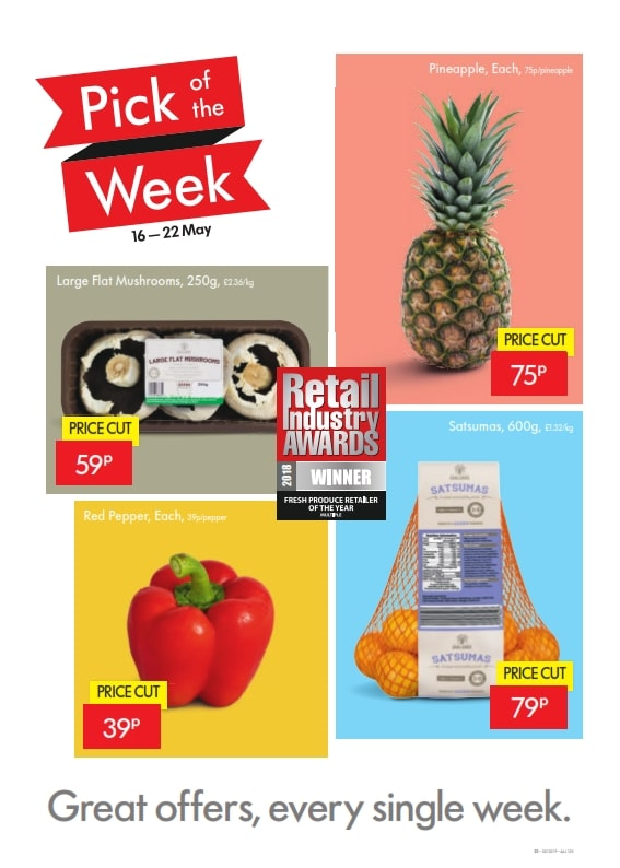 Lidl Offers 16th May 22nd May 2019