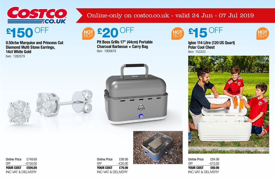 Costco Offers 24th June 7th July 2019