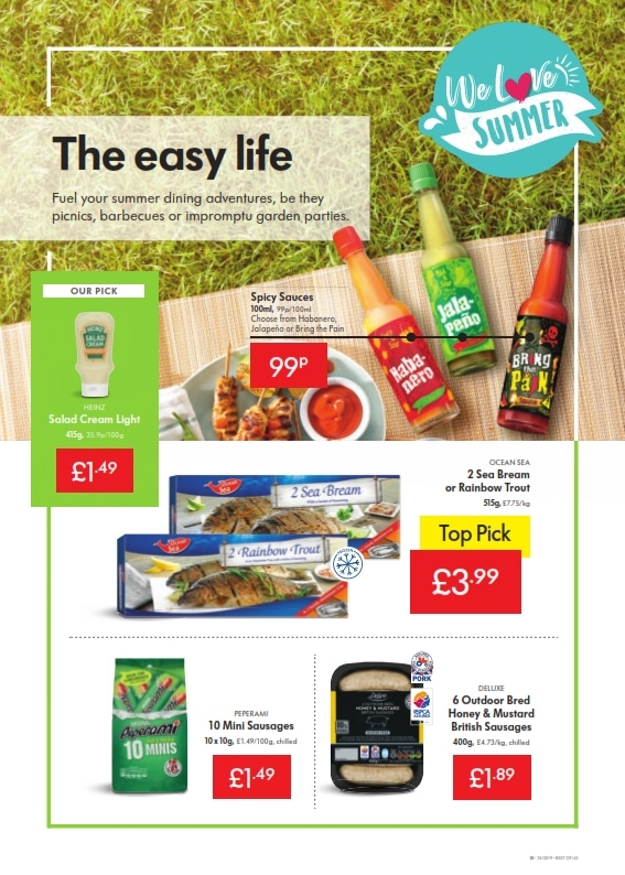 Lidl Offers 20th June 26th June 2019