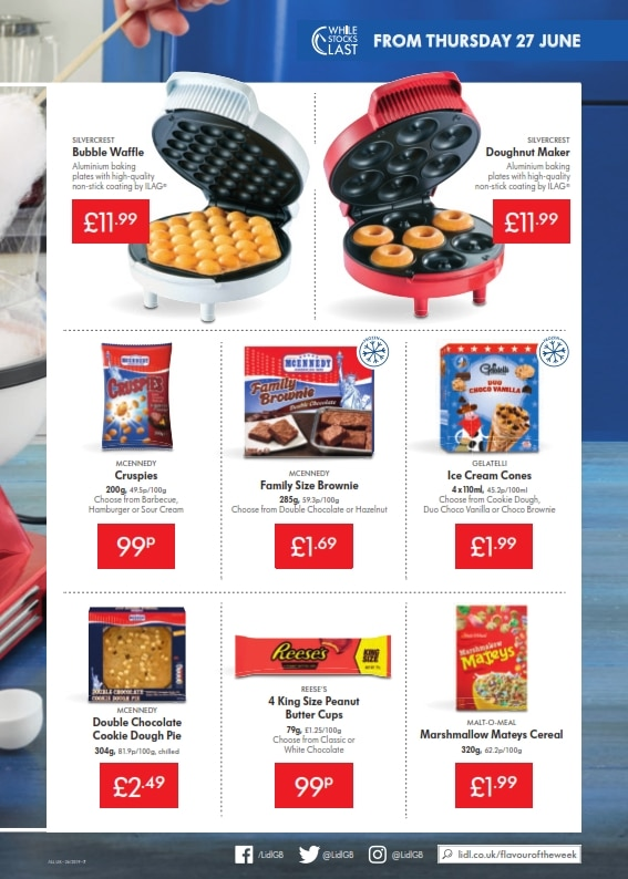 Lidl Offers 27th June 3rd July 2019
