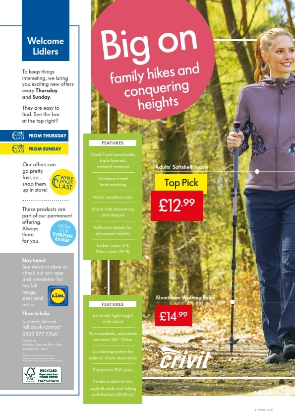 Lidl Offers 8th August 14th August 2019
