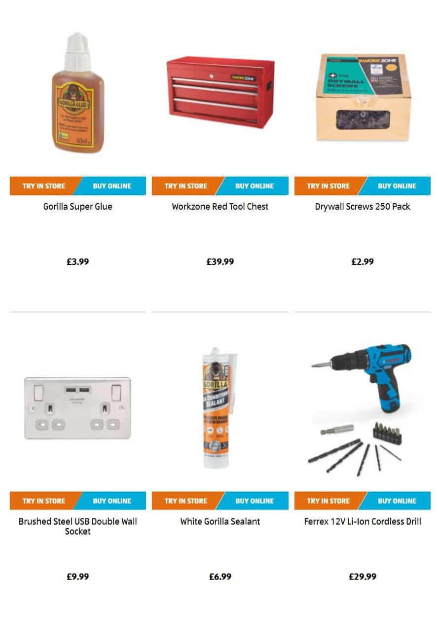 Aldi Special Buys 8th August 2019