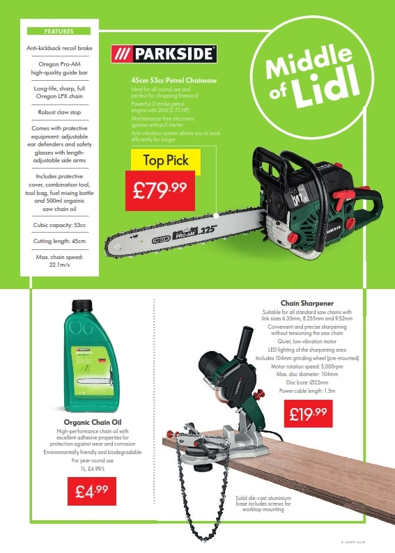 Lidl Offers 22nd August - 28th August, 2019