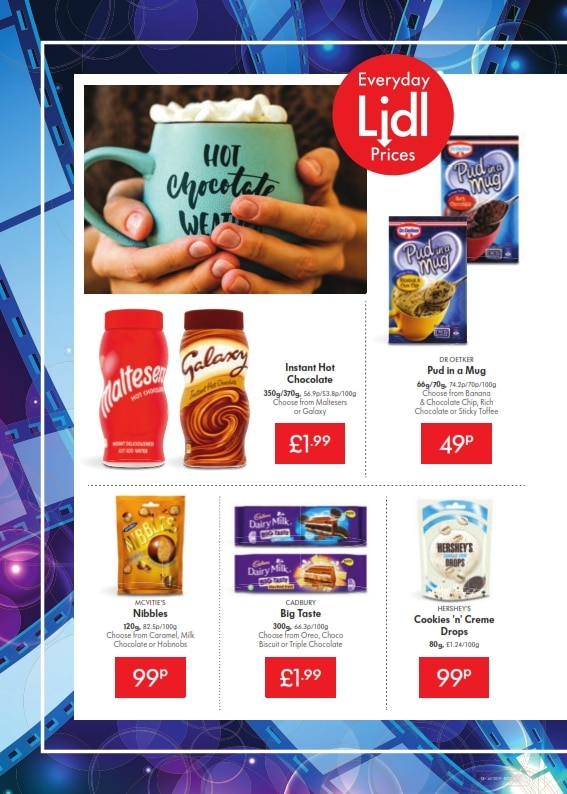 Lidl Offers 3rd October 9th October 2019