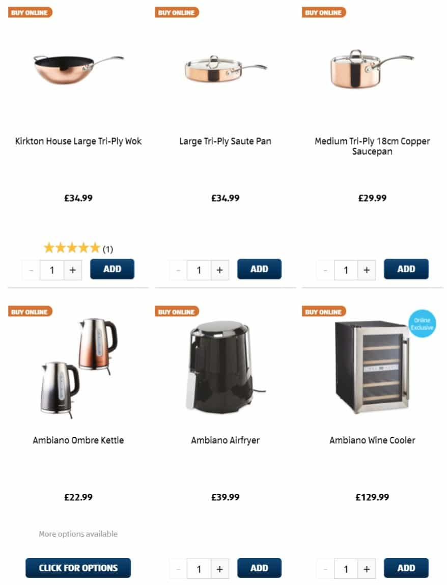 Aldi Special Buys 24th November 2019
